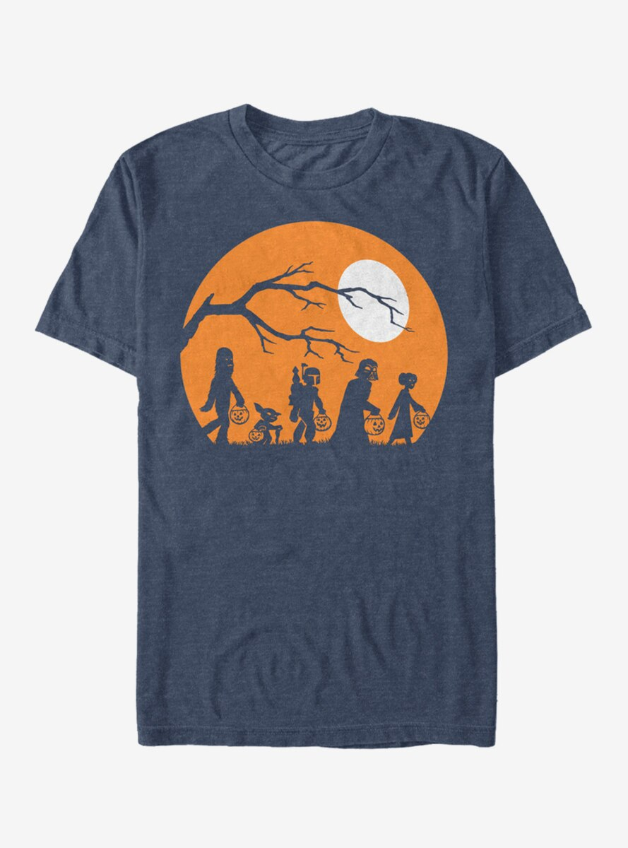 Star Wars Halloween Characters Trick or Treat T-Shirt