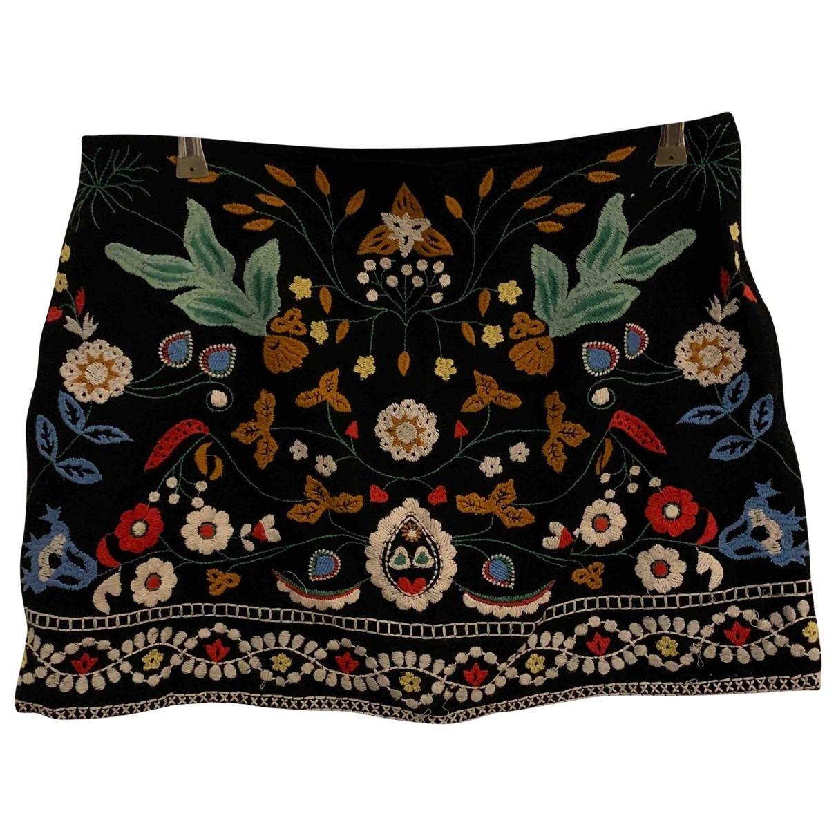 Zara \N Multicolour Cotton skirt for Women M International