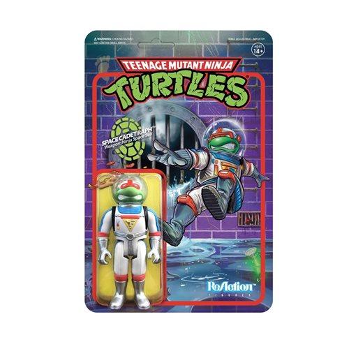 Teenage Mutant Ninja Turtles Space Cadet Raphael 3 3/4-Inch ReAction Figure