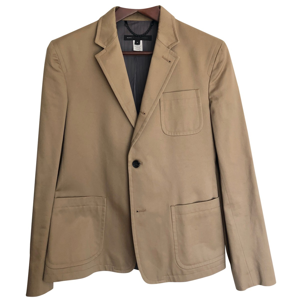 Marc By Marc Jacobs \N Beige Cotton jacket  for Men M International