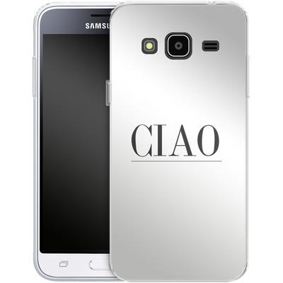 Samsung Galaxy J3 (2016) Silikon Handyhuelle - Just CIAO! von Erik Scholz