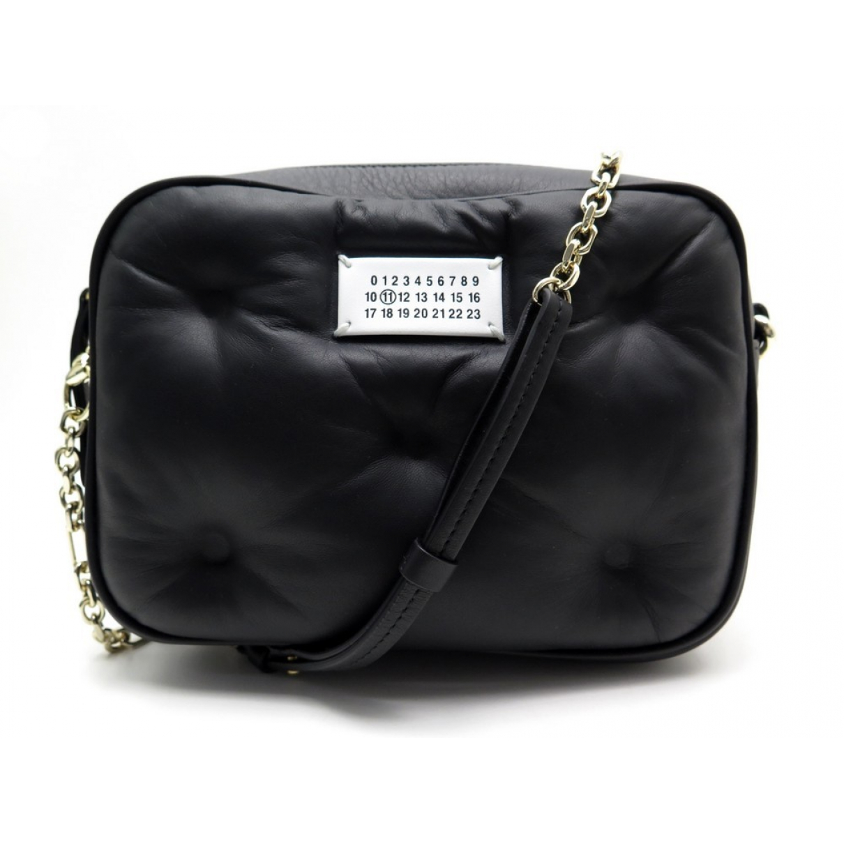Maison Martin Margiela \N Handtasche in  Schwarz Leder