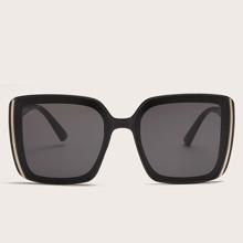 Maenner Acrylrahmen Sonnenbrille