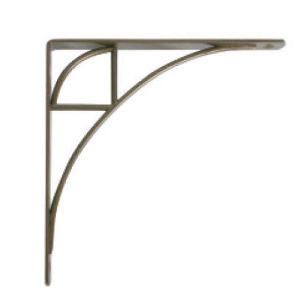 Knape & Vogt Oak Park Designer Shelf Bracket, Antique Bronze Finish