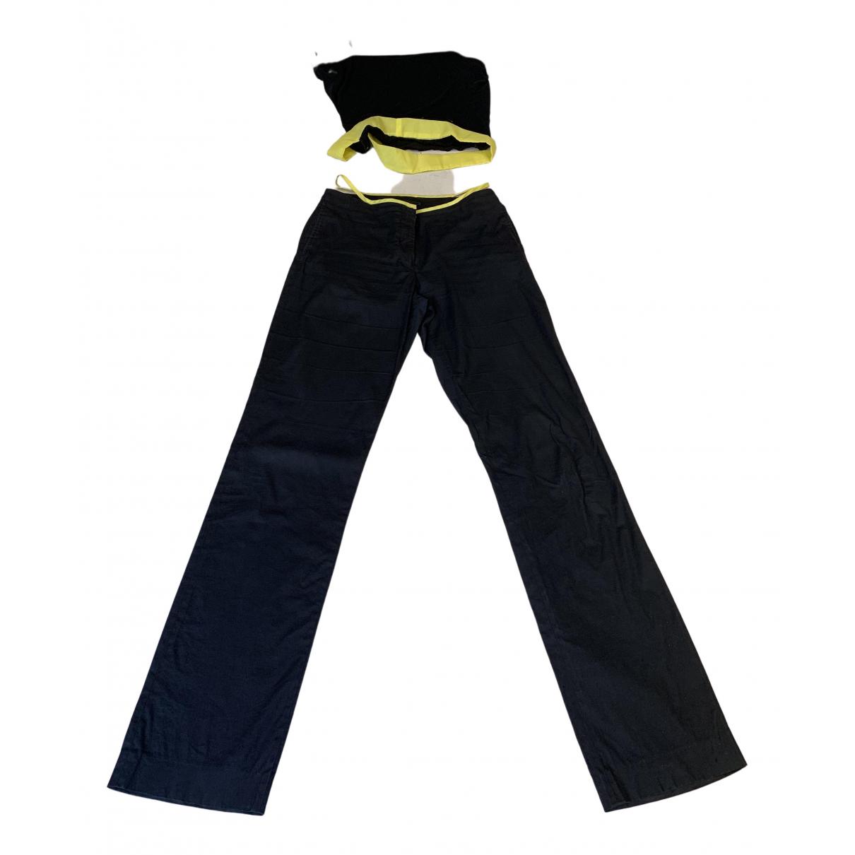 Helmut Lang - Combinaison   pour femme en coton - noir
