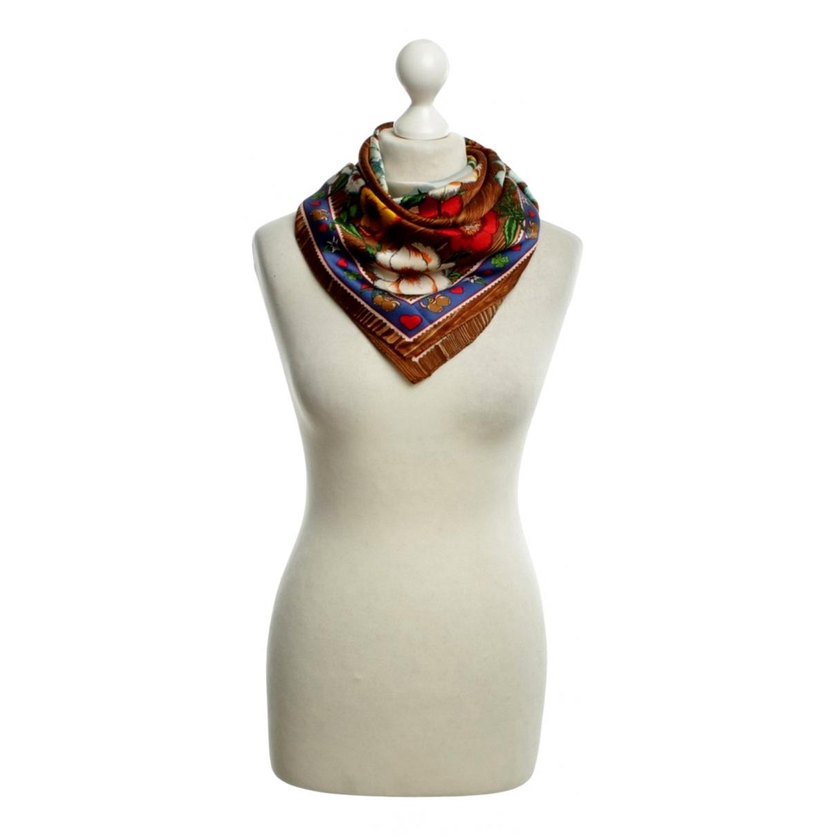 Moschino - Foulard   pour femme en soie - blanc