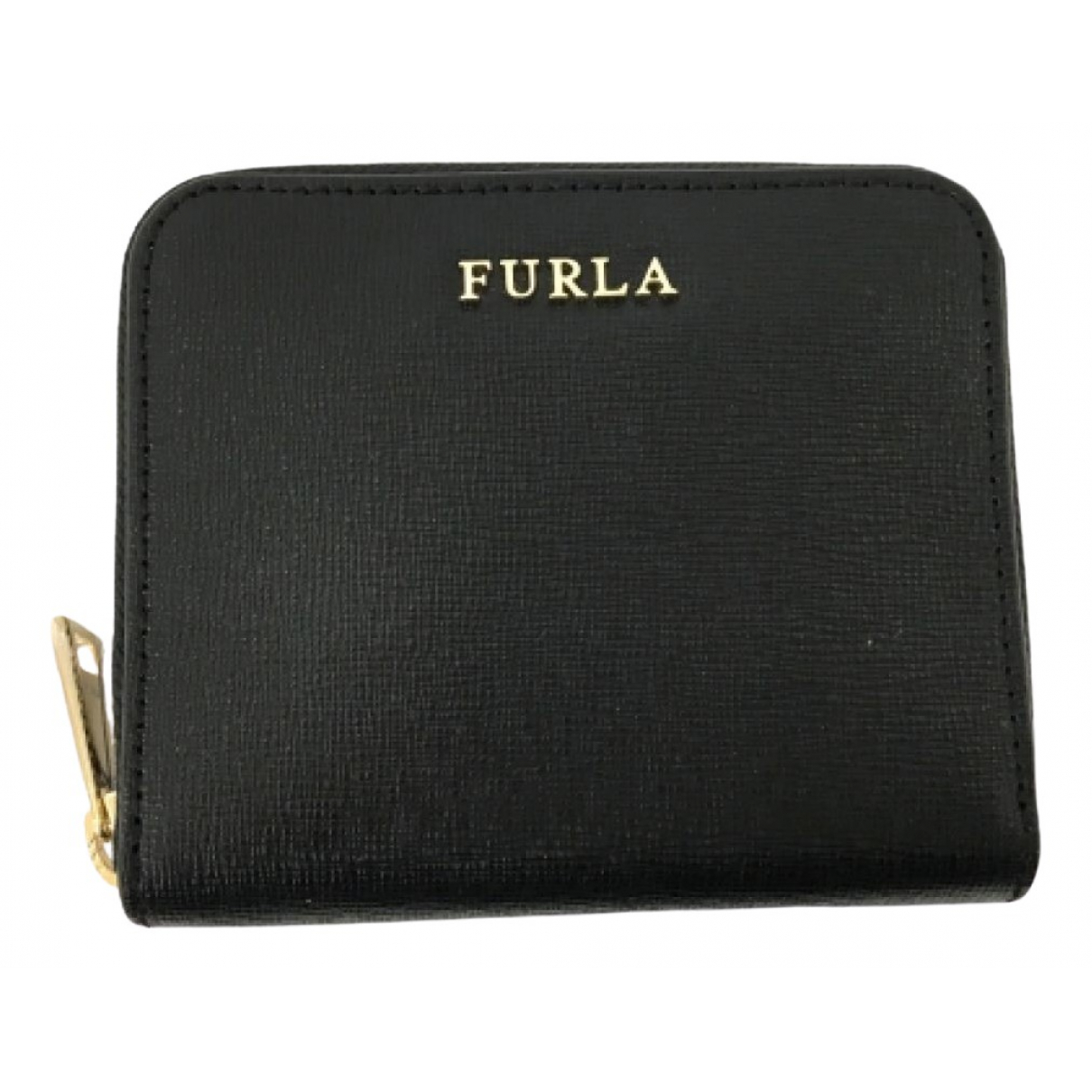 Furla \N Black Leather wallet for Women \N
