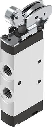 Festo Roller Lever 5/2 Pneumatic Manual Control Valve VMEF Series