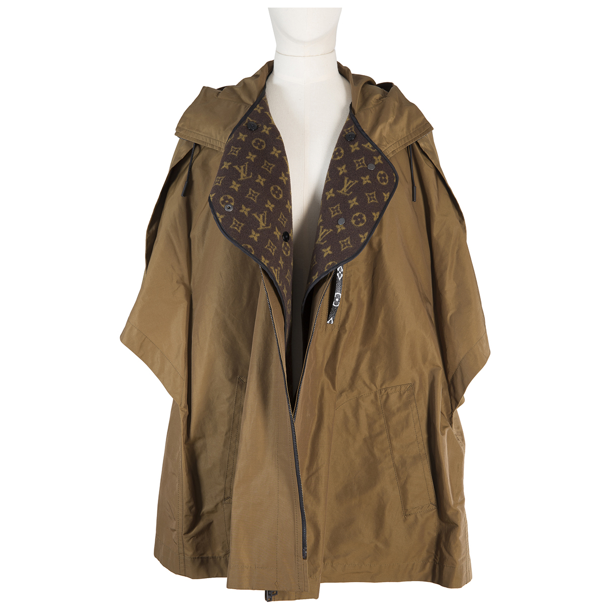 Louis Vuitton \N Brown Wool coat for Women 38 FR