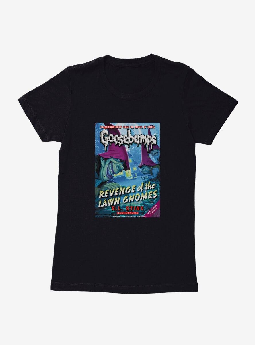 Goosebumps Revenge Of The Lawn Gnomes Book Womens T-Shirt