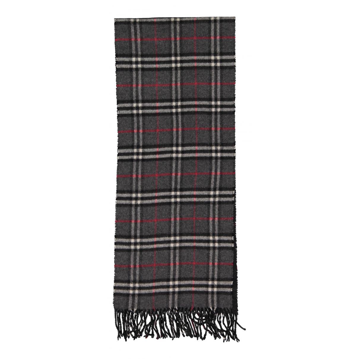 Burberry N Grey Cashmere scarf for Women N