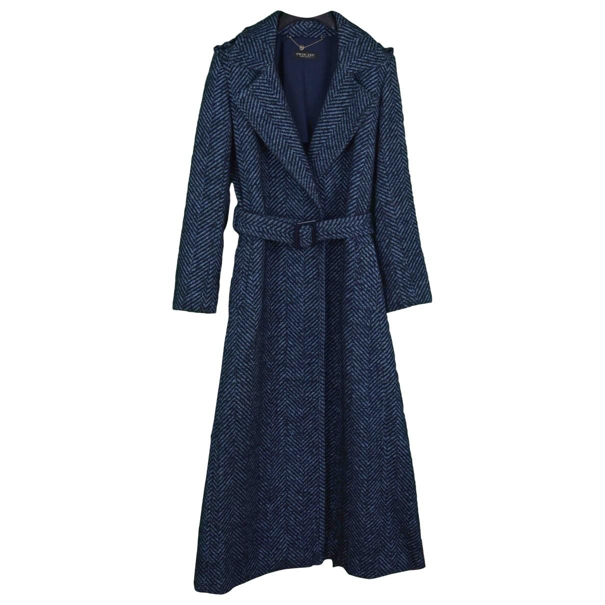 Twin Set \N Blue coat for Women S International