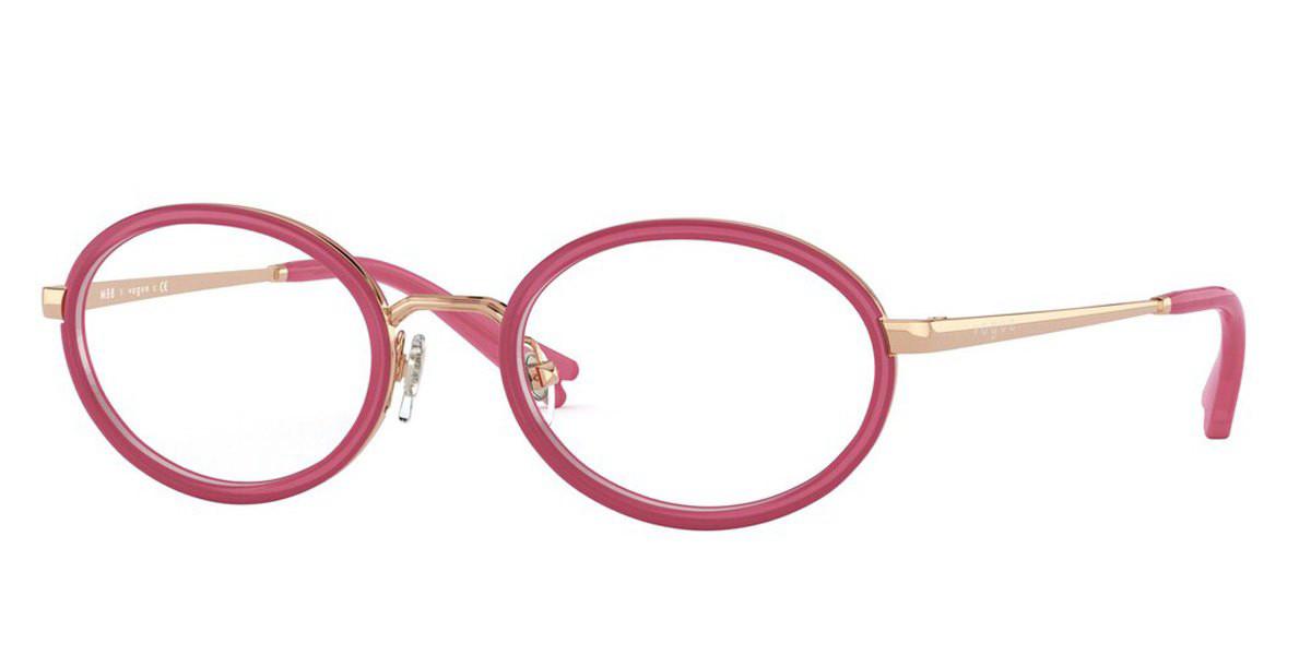 Vogue Eyewear VO4167 5075 Women's Glasses Pink Size 46 - Free Lenses - HSA/FSA Insurance - Blue Light Block Available