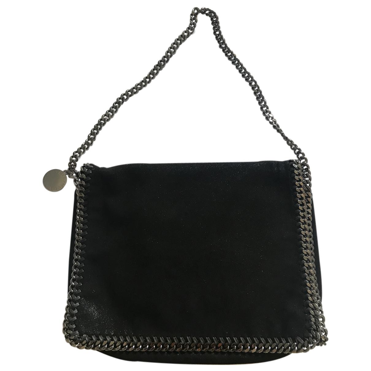 Stella Mccartney Falabella Black Leather handbag for Women N