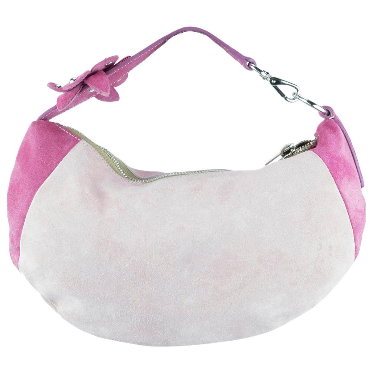 Miu Miu \N Pink Suede handbag for Women \N