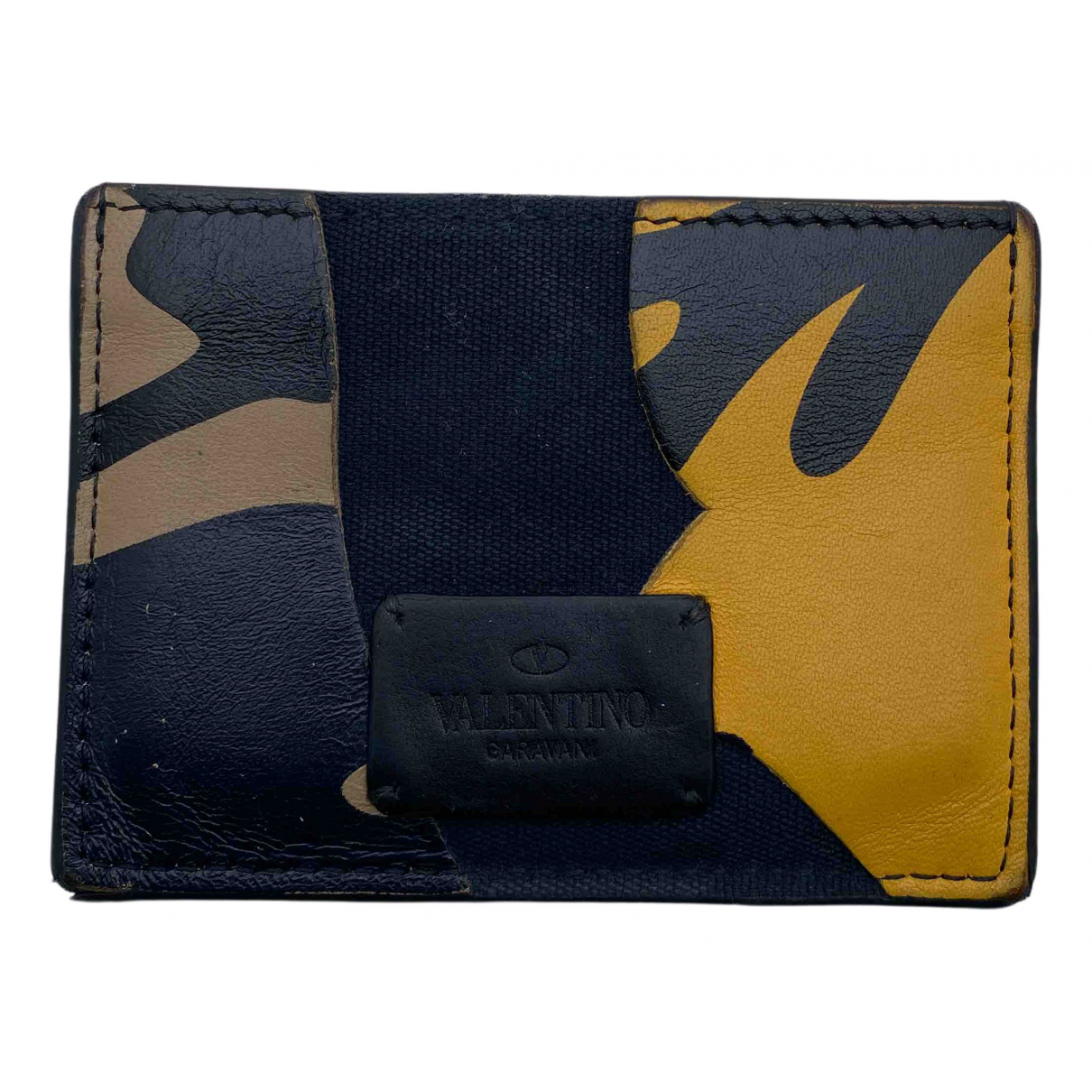 Valentino Garavani N Multicolour Leather Small bag, wallet & cases for Men N