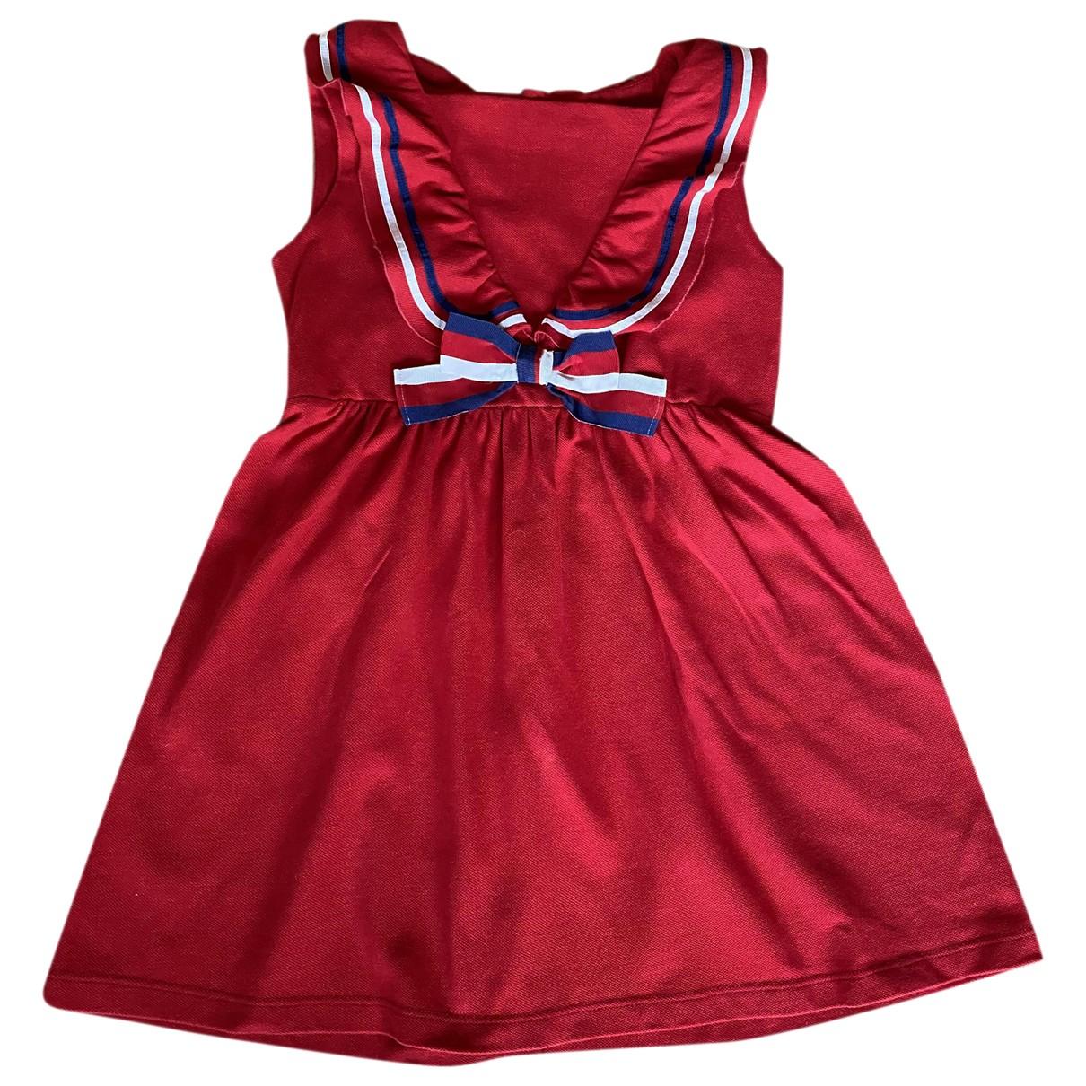 Gucci - Robe    pour enfant en coton - rouge