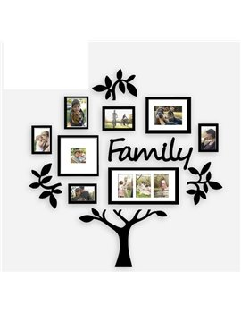 Easy to Paste European Photo Frames Family Photo Wall Large Size Environmental Friendly Wear-resistant Anti-corrosion No-fading Moisture 3D Wall Stick