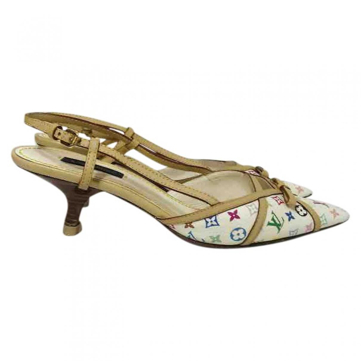 Louis Vuitton \N Multicolour Leather Heels for Women 37 EU