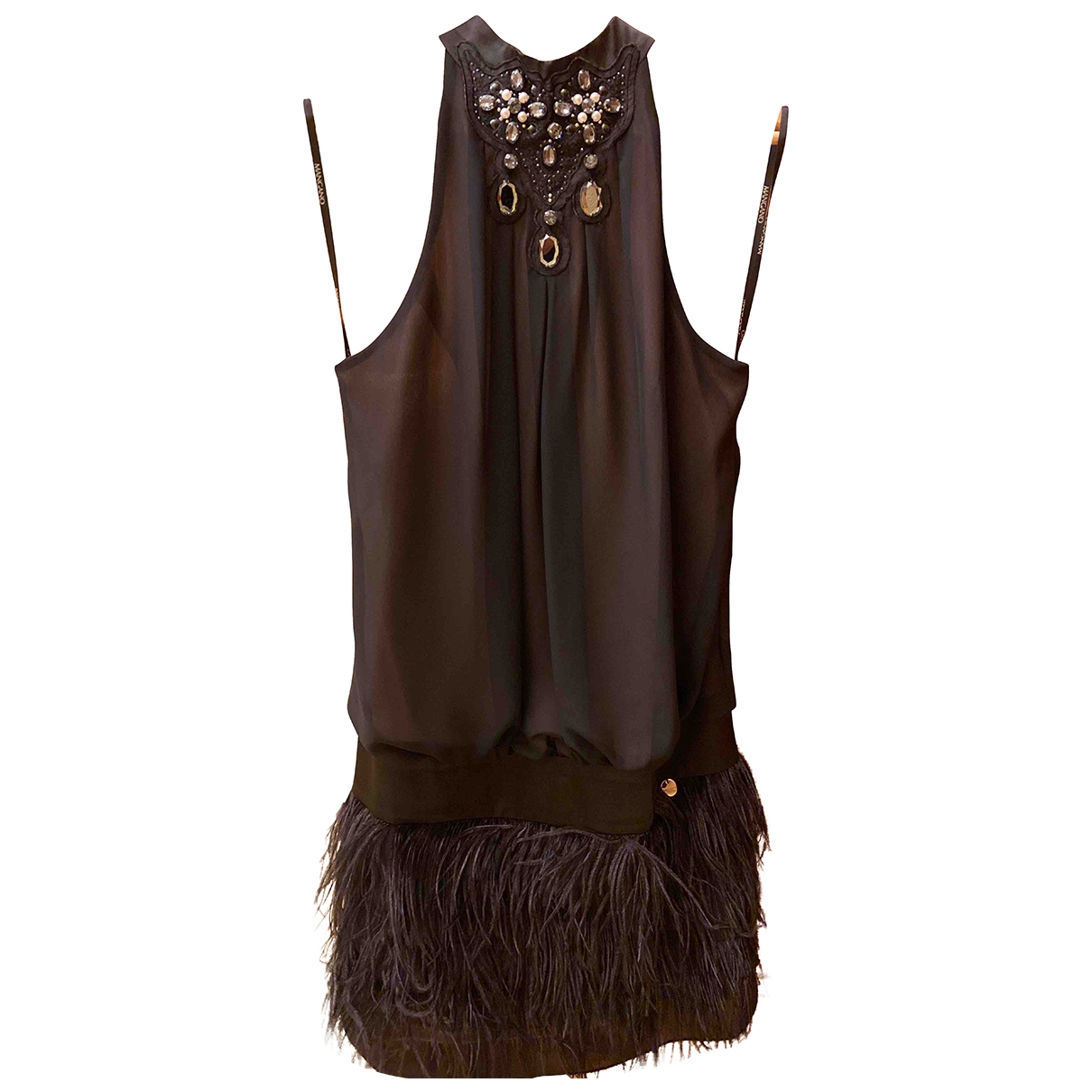 Mangano \N Black dress for Women 44 IT