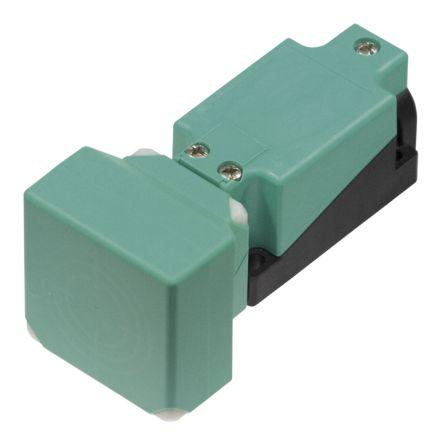 Pepperl + Fuchs Inductive Sensor - Block, NO/NC Output, 40 mm Detection, IP68, M20 Gland Terminal