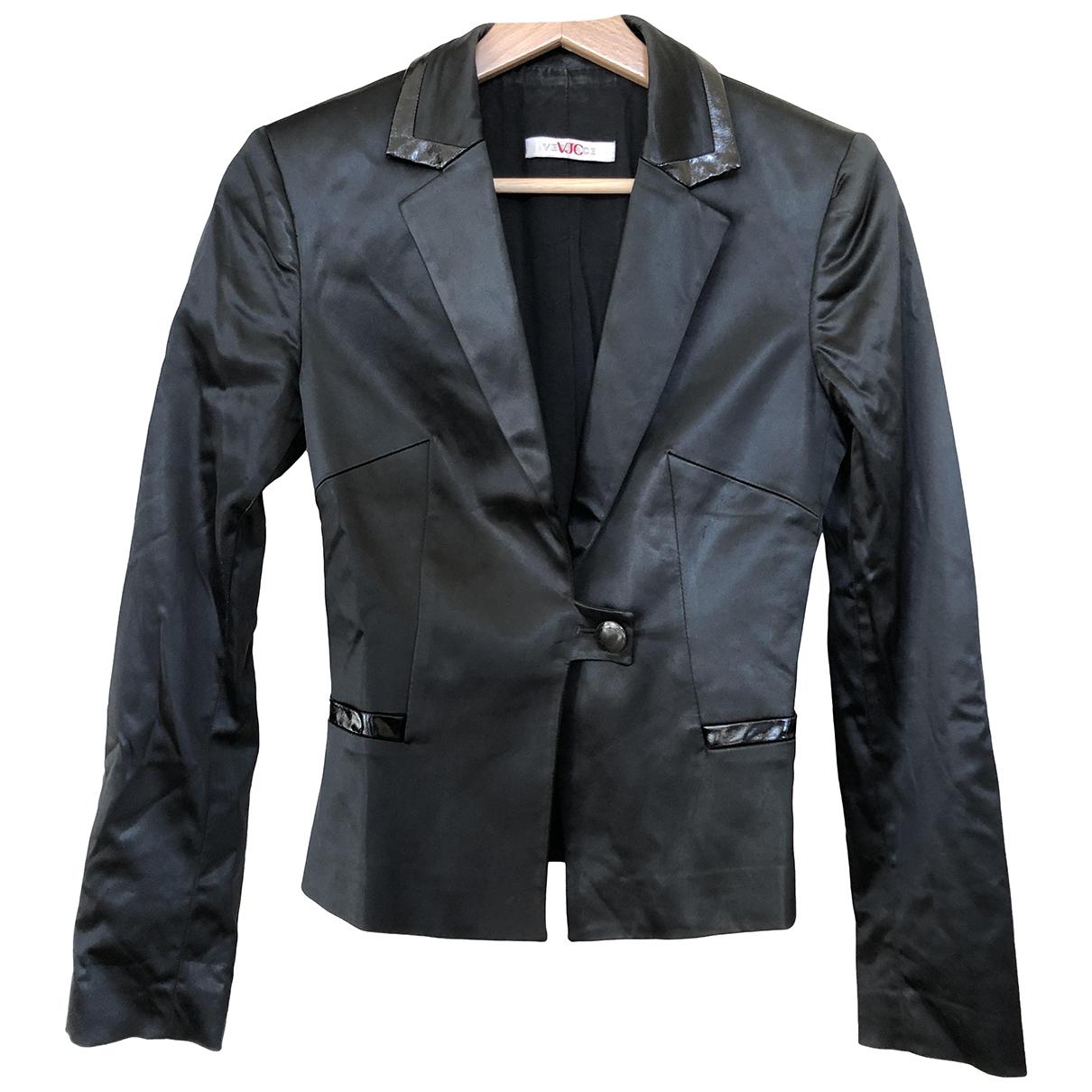 Versace Jeans \N Black Silk jacket for Women XS International