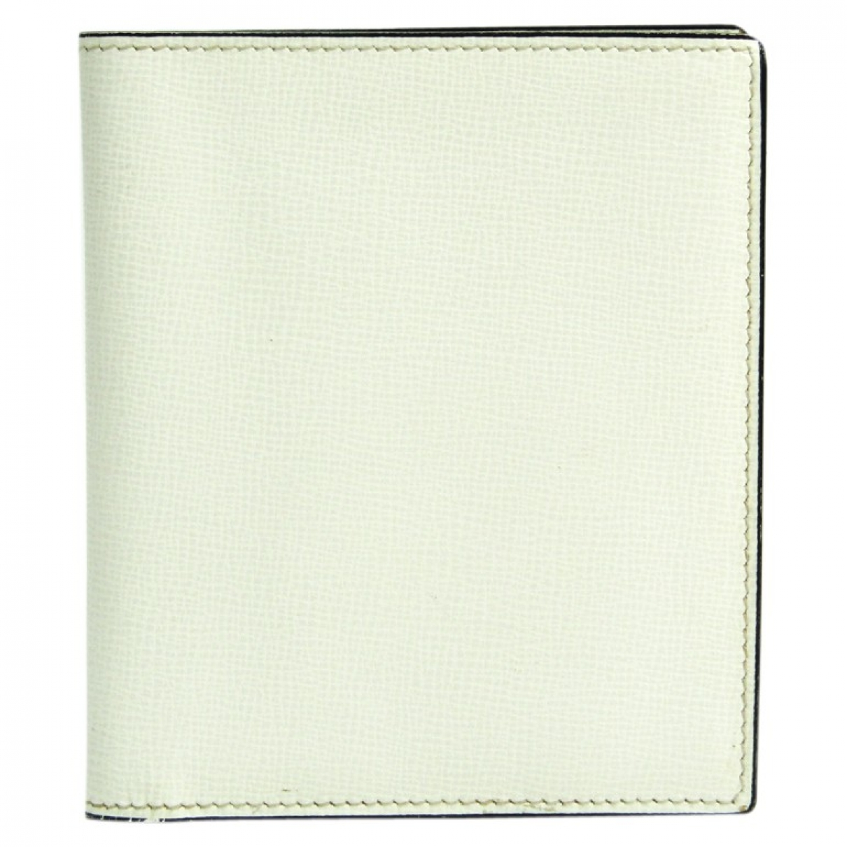Valextra \N White Leather wallet for Women \N