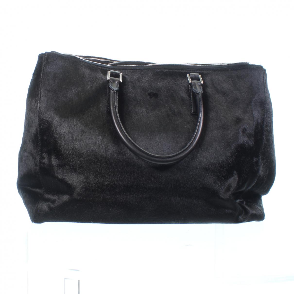 Anya Hindmarch \N Handtasche in  Schwarz Leder