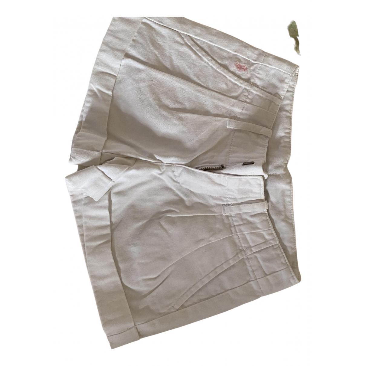 Ralph Lauren \N Shorts in  Weiss Baumwolle