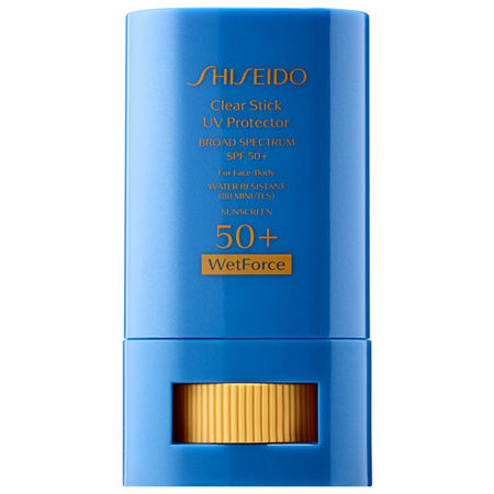 Shiseido Wetforce Clear Stick UV Protector Broad Spectrum 50+, One Size , No Color Family
