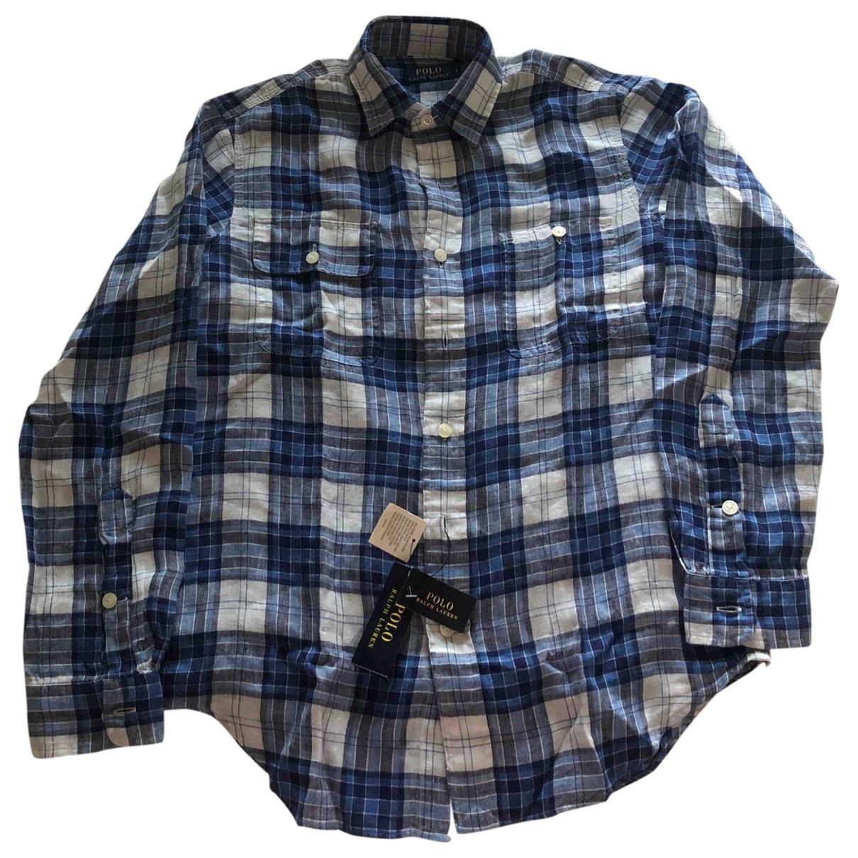Polo Ralph Lauren \N Hemden in  Blau Leinen
