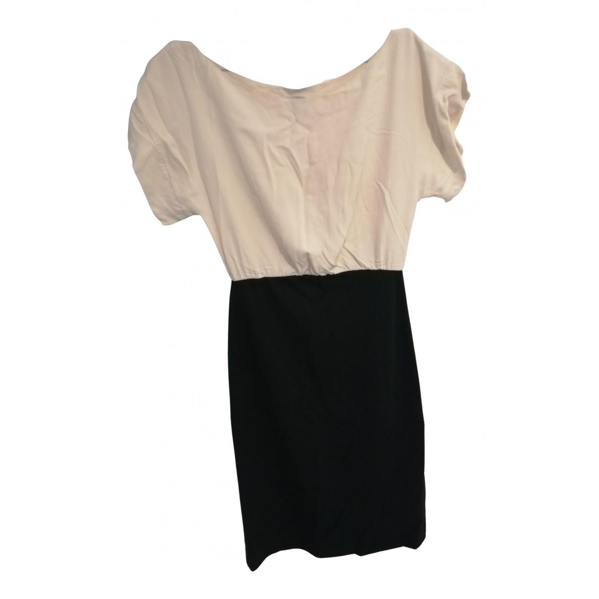 Paul & Joe \N Kleid in  Beige Baumwolle - Elasthan