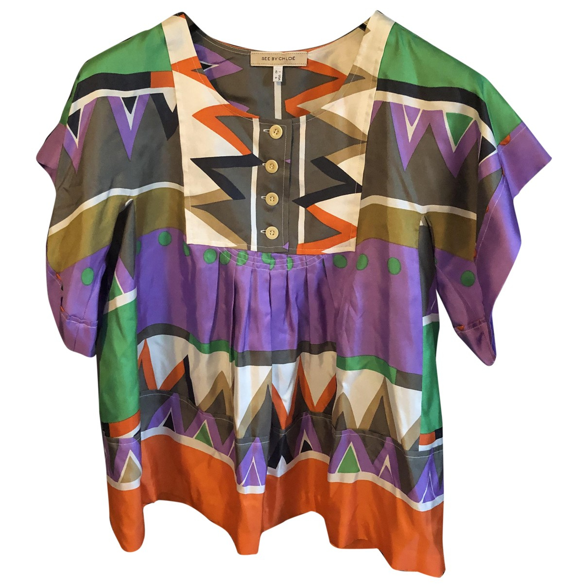 See By Chloé \N Multicolour Silk  top for Women 42 IT