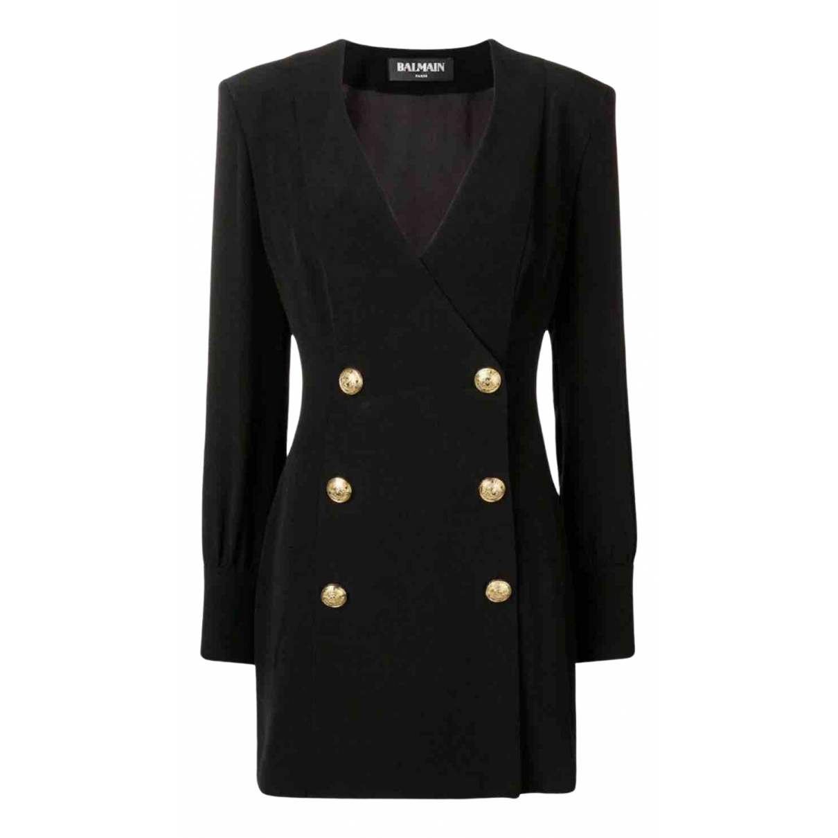 Balmain N Black dress for Women 38 FR