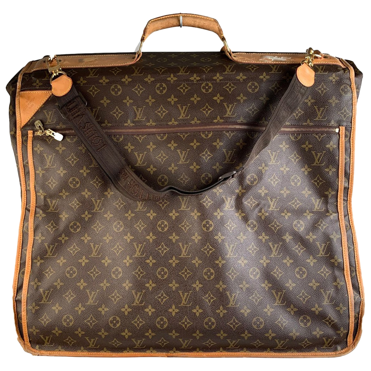 Louis Vuitton \N Brown Cloth Travel bag for Women \N