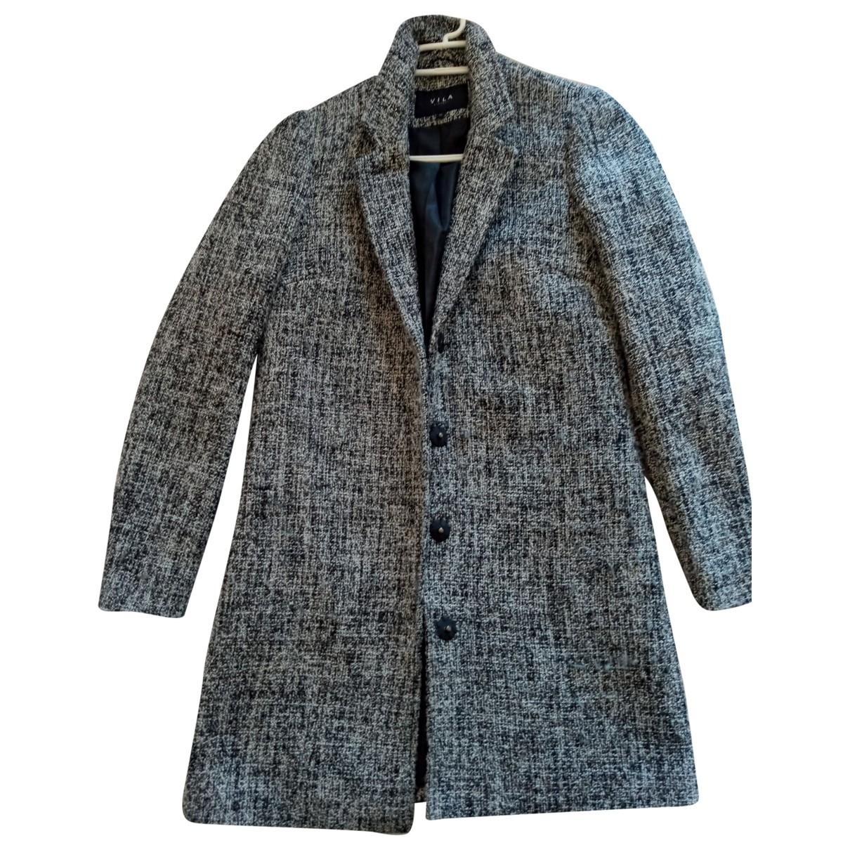 Non Signé / Unsigned \N Grey coat for Women XS International