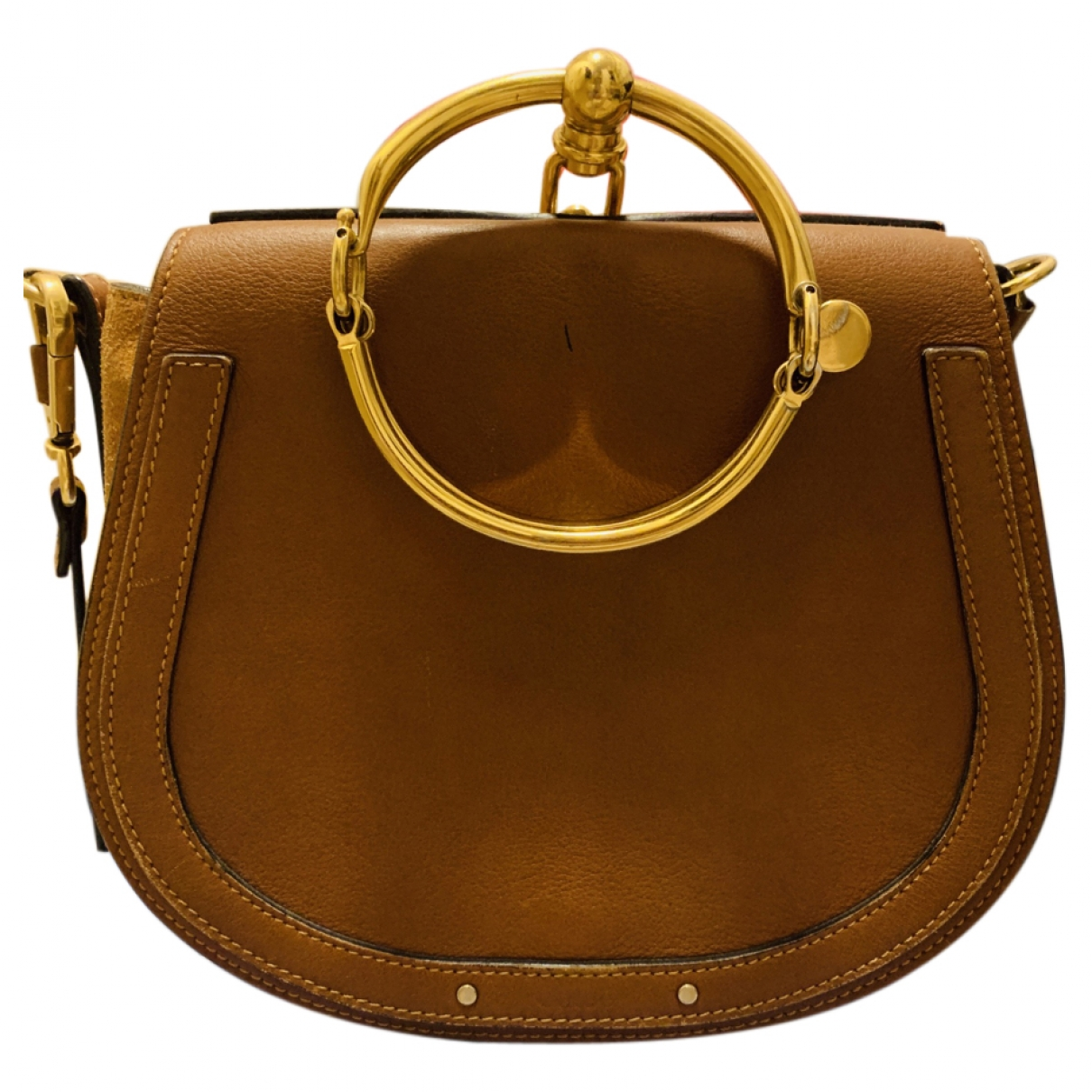 Chloé Bracelet Nile Brown Leather handbag for Women \N