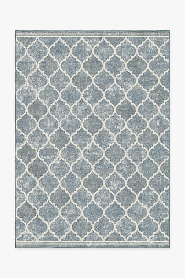 Washable Rug Cover | Terali Slate Rug | Stain-Resistant | Ruggable | 5'x7'