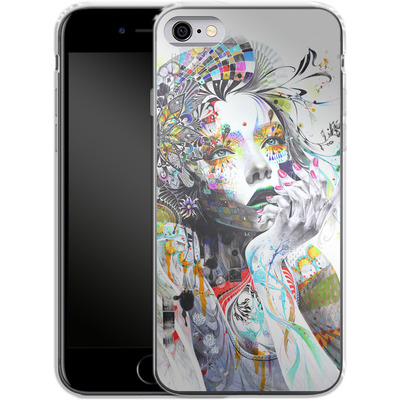 Apple iPhone 6s Silikon Handyhuelle - Circulation von Minjae Lee