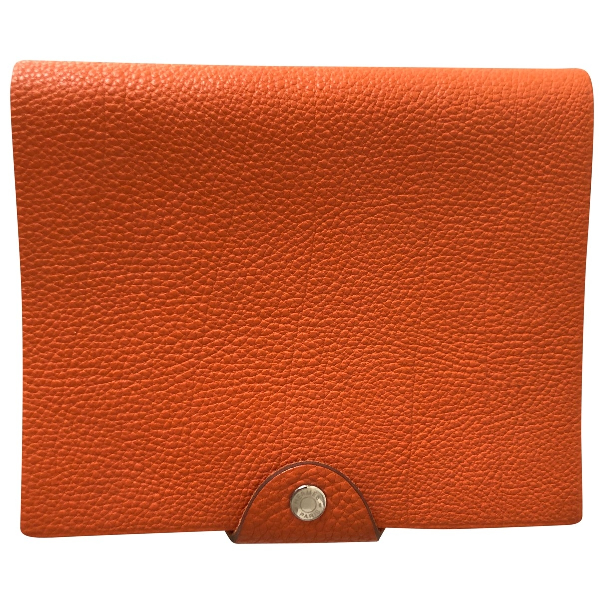 Hermes - Objets & Deco Ulysse PM pour lifestyle en cuir - orange