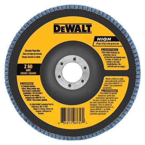 DeWalt 4-1/2 In. x 5/8 In. to 11 120 g Type 29 HP Flap Disc