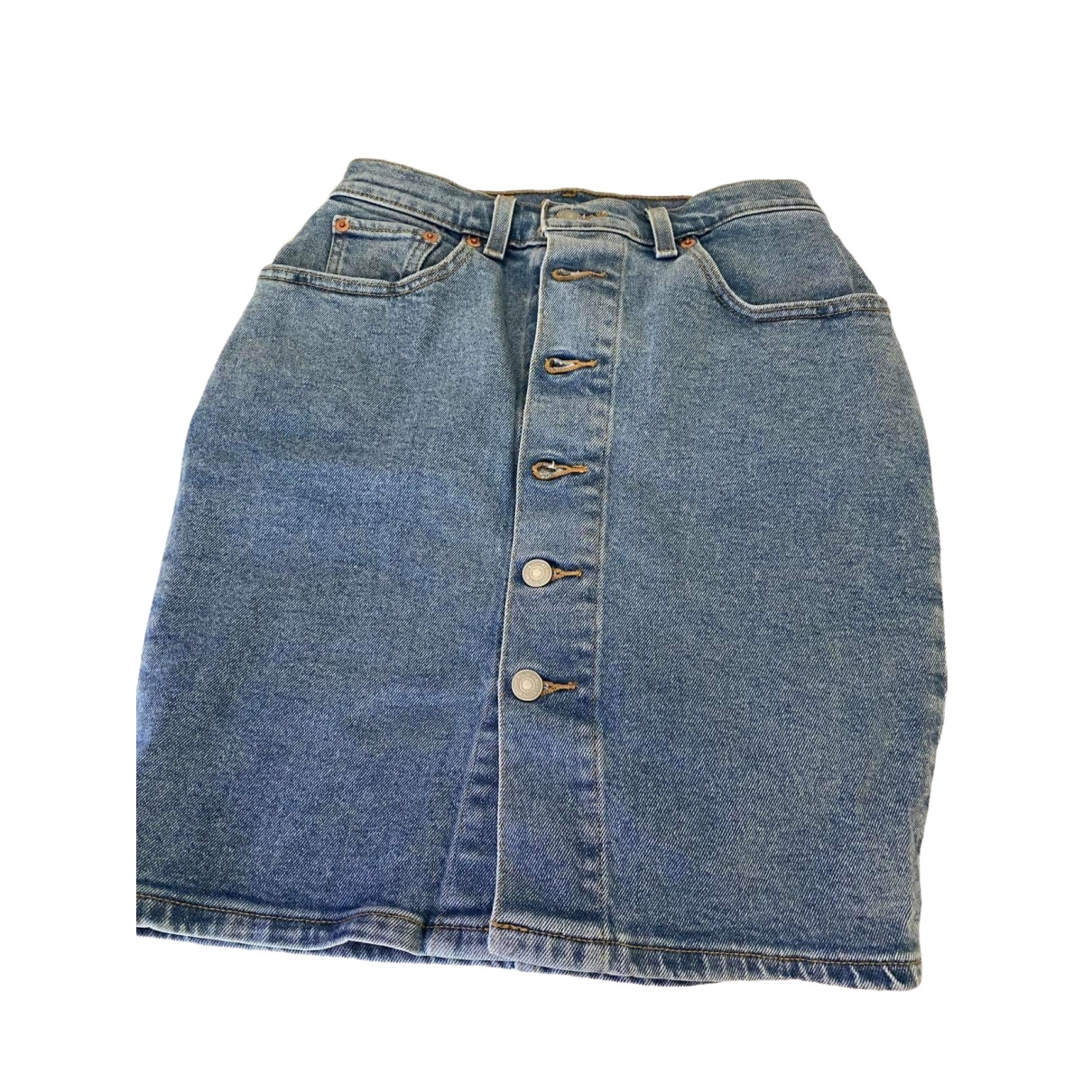 Levi's \N Blue Denim - Jeans skirt for Women 36 FR