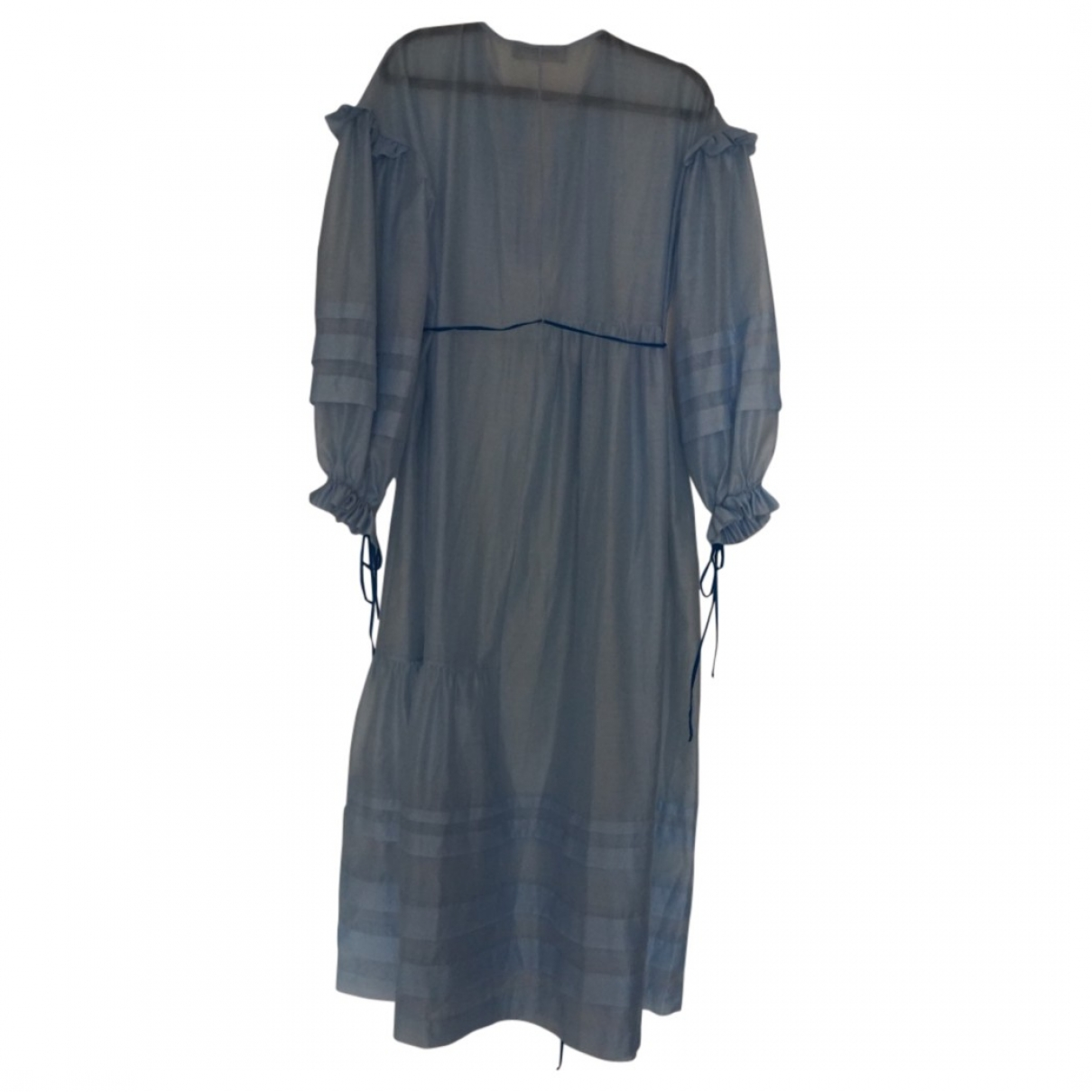 Anna October \N Blue dress for Women XS International