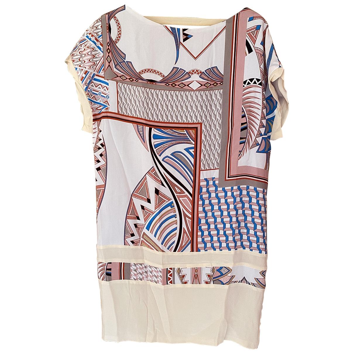 Pinko - Robe   pour femme en soie - multicolore