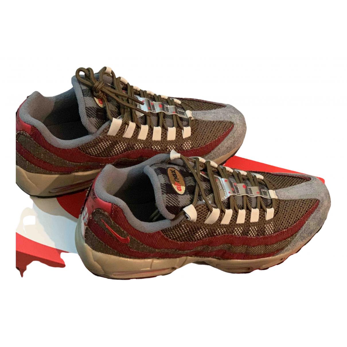 Nike - Baskets Air Max 95 pour homme en suede - marron