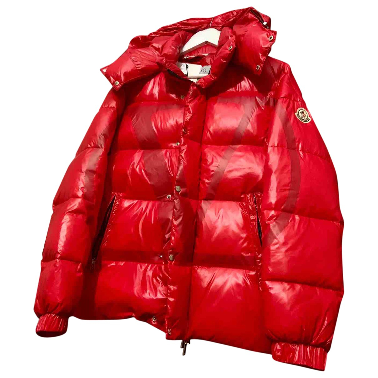Valentino X Moncler \N Maentel in  Rot Synthetik