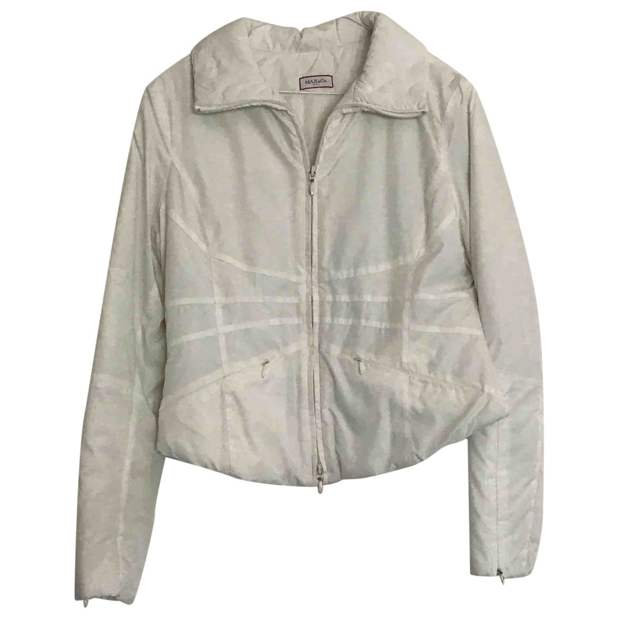 Max & Co \N White jacket for Women 40 IT