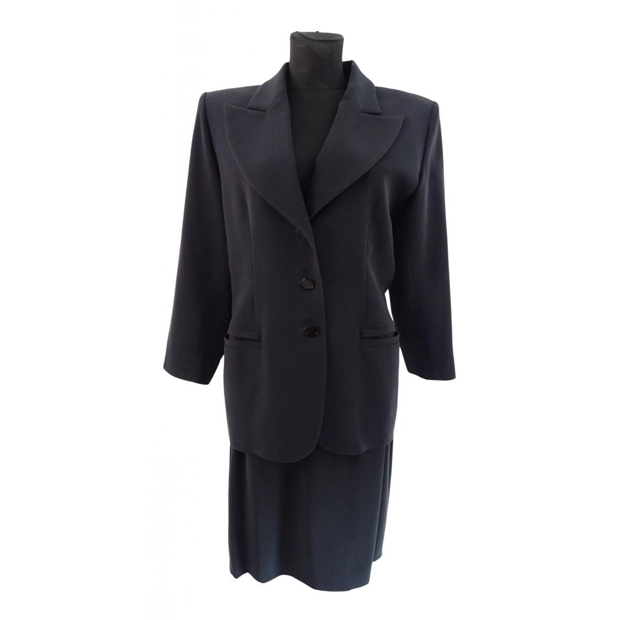 Yves Saint Laurent \N Blue skirt for Women 48 FR