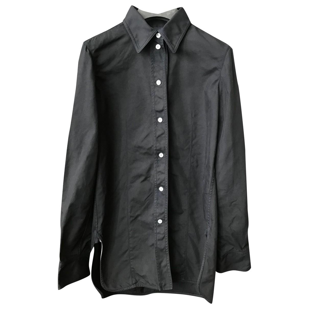 Celine - Top   pour femme en coton - noir