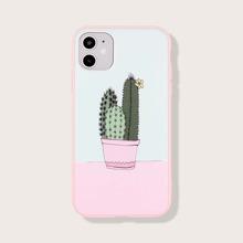 Cactus Print iPhone Case